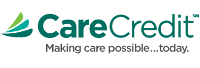 CareCredit Making care possible... today. logo